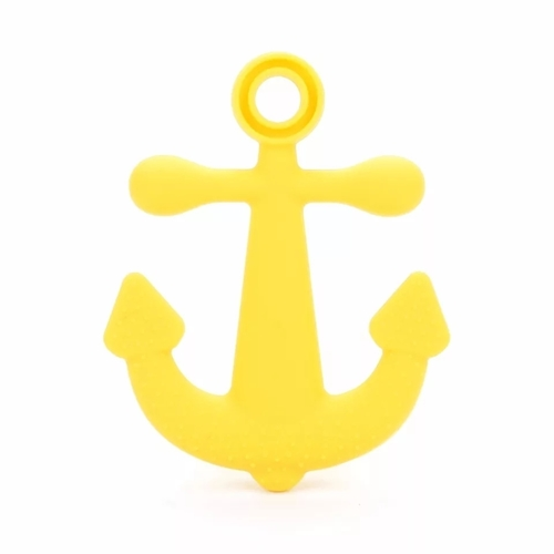 Baby Teether Anchor (Yellow)