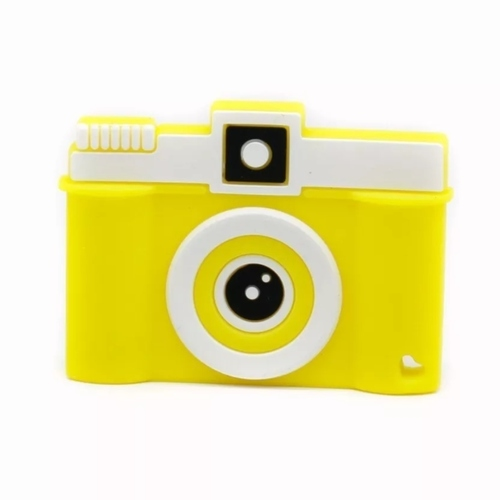 Baby Teether Camera (Yellow)