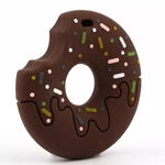 Baby Teether Donut Chocolate