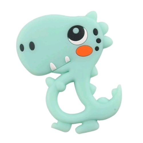 Baby Teether Cute Dino Mint