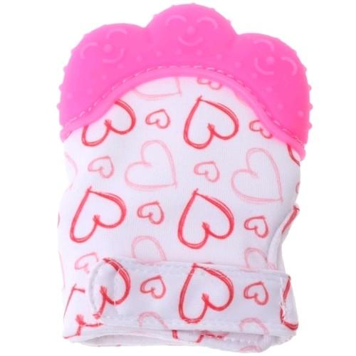 Glove Bite Heart (Pink)