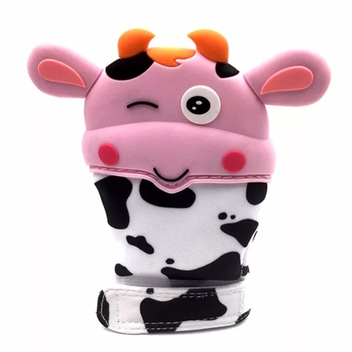 Glove Bite Cow (Pink)