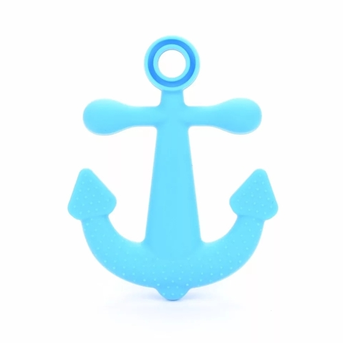 Baby Teether Anchor (Sky Blue)