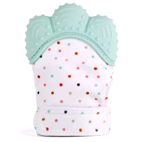 Glove Bite Polka Dots (Mint)