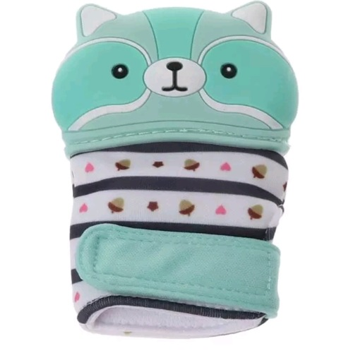 Glove Bite Racoon (Mint)