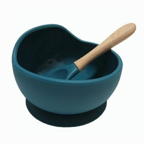Silicone Bowl Set Ocean Blue