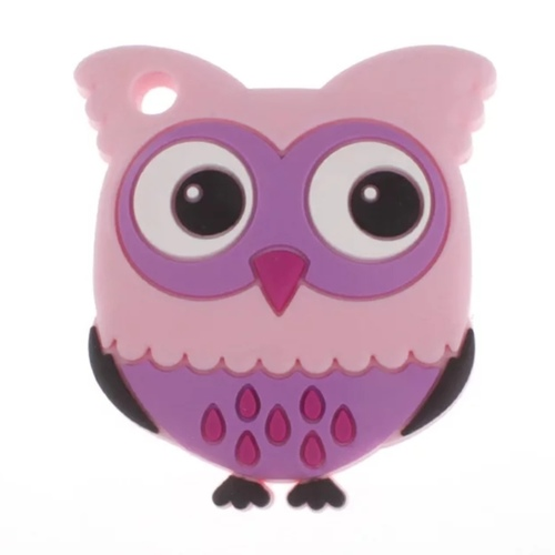 Baby Teether Owl (Purple)