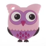 Baby Teether Owl Purple