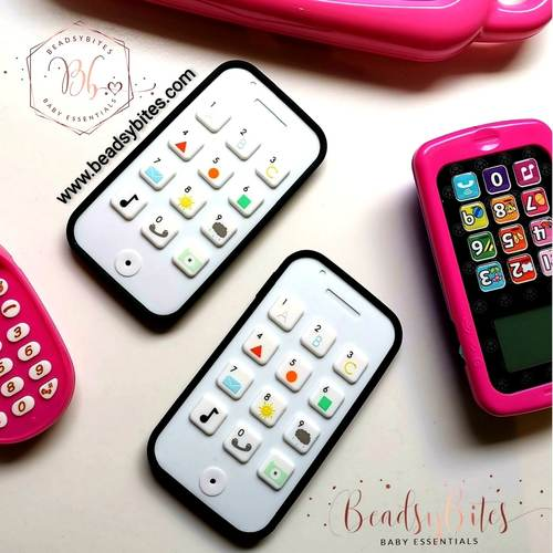 Baby Teether Cell Phone
