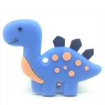 Baby Teether Dino (Blue)