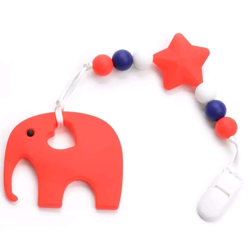Beadsy Set Elephant (Red)