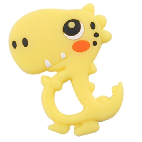Baby Teether Cute Dino (Yellow)