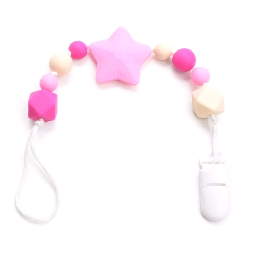 Beadsy Clip Star (Pink)