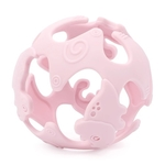 Dino Teething Ball (Pink)