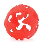 Dino Teething Ball (Red)