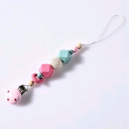 BB Wooden Chain Pink