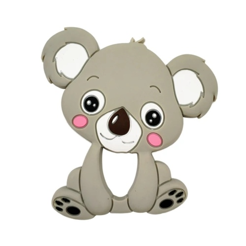 Baby Teether Koala Gray