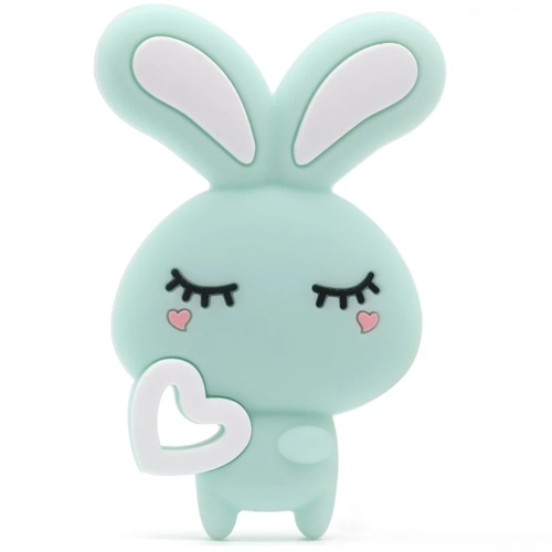 Baby Teether Bunny (Mint)