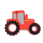 Baby Teether Tractor (Red)