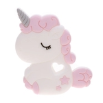 Baby Teether Chubby Unicorn (Pink)
