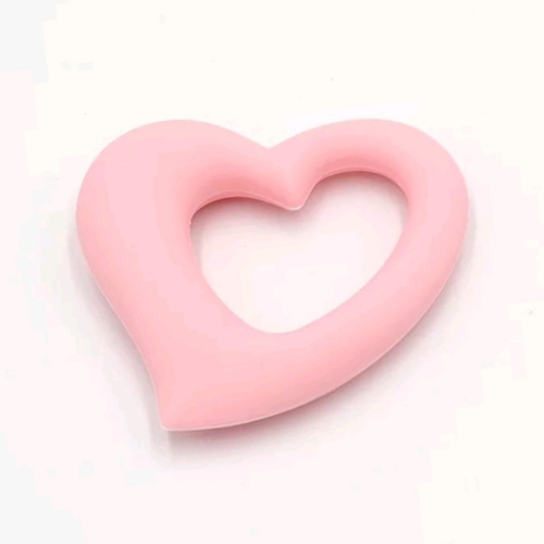 Baby Teether Heart (Pink)
