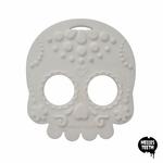 Baby Teether Sugar Skull (White)
