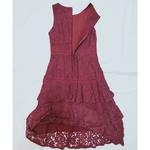 Lace dress *Maroon