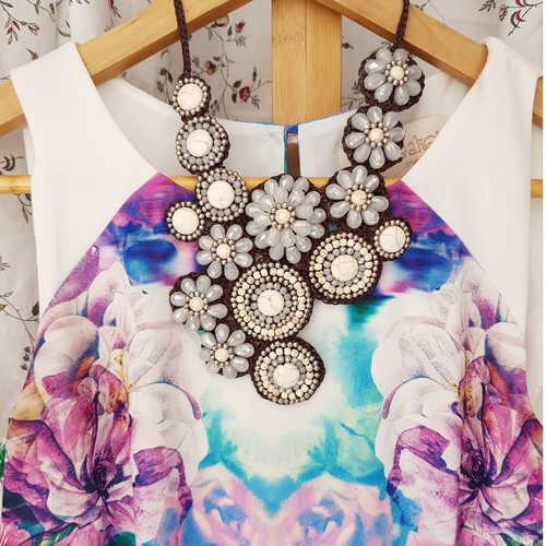 Artisanal. White Turquoise