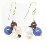 Wired Beads earrings