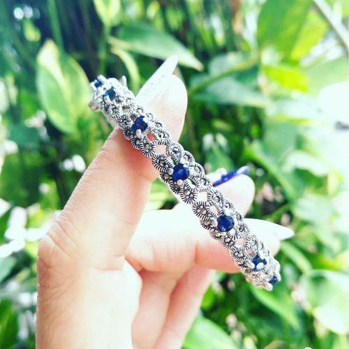 Sapphire Bangle