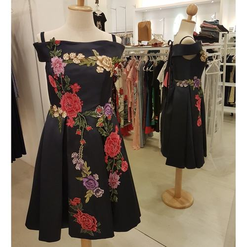 Floral Evening Dress