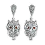 Owl Earrings Large Eyes