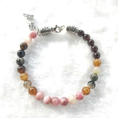 Handmade Bracelet Tourmalines L
