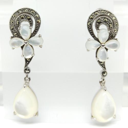 Spirulina Set White Mother of Pearls