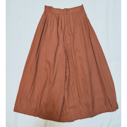 Silk like Culocks pleated *Brown