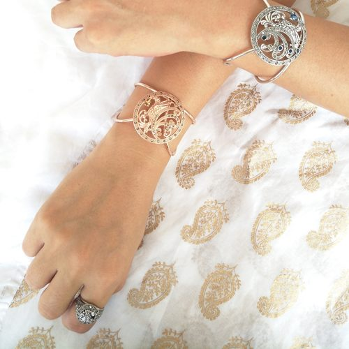 Paradise Bird Ring Silver