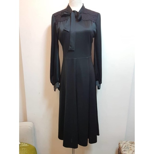 Satin English Dress