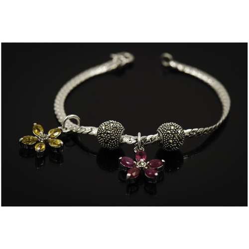 Bloom Collection - Bracelet Natural Citrine