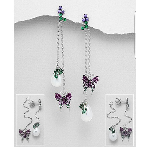 Crystaline Butterfly