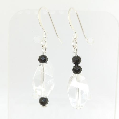 Latina Crystal Quartz *Black Spinnels