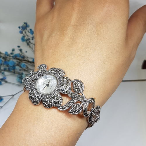 Flora Silver Watch *Rental price