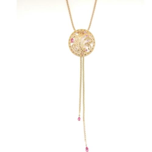 MS Paradise Bird Necklace *RoseGold