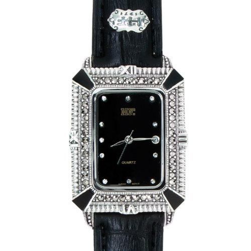 Calf Leather Watch Black Onyx HW190