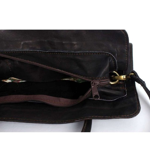 Artisanal Leather Shoulder Bag *BG8472