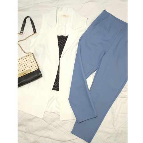 Tailored Three-Quarter Pants