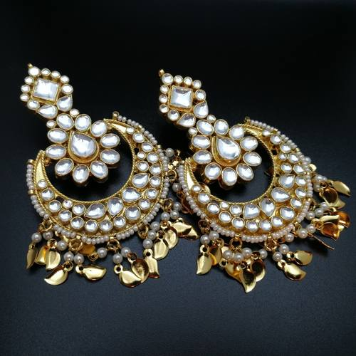 Kundan Chandbali Light Weight