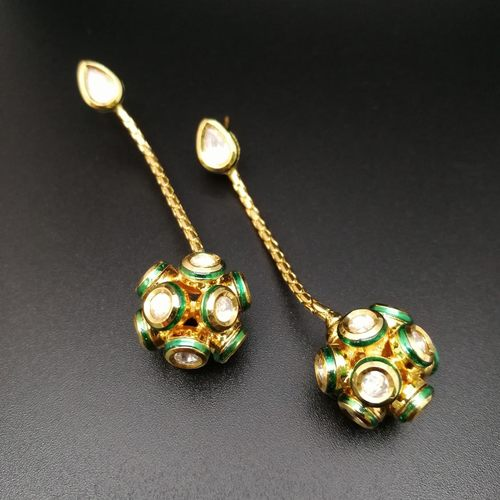 Kundan Ball Hangings