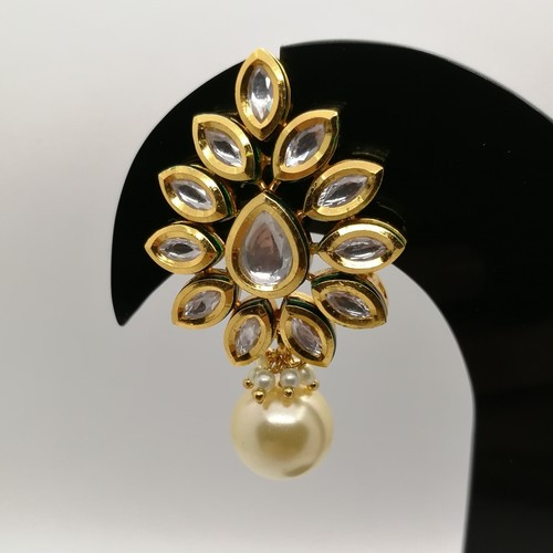 Classic Kundan Grapevine Earrings