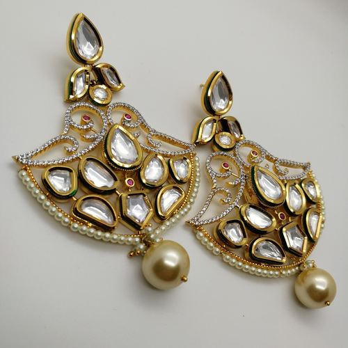 Kundan Studded Earrings