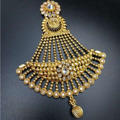 Antique Gold Jhoomar Passa